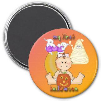 My 1st Halloween Round Magnet