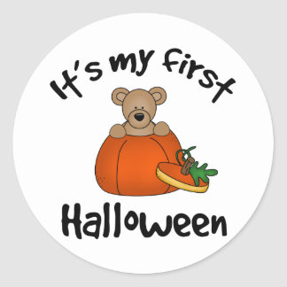 My 1st Halloween Stickers