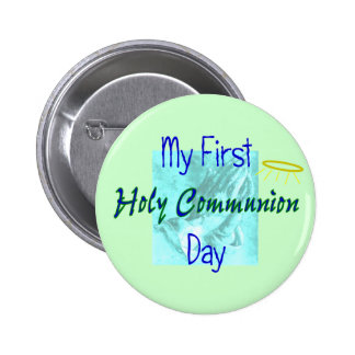 My 1st Holy Communion Day T-Shirts Button