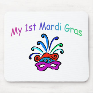 My 1st Mardi Gras Mouse Pad