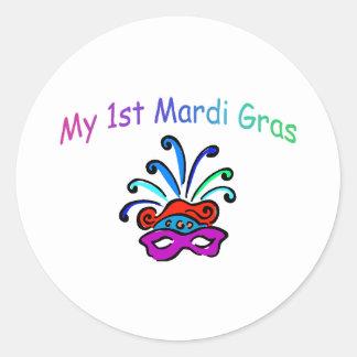 My 1st Mardi Gras Sticker
