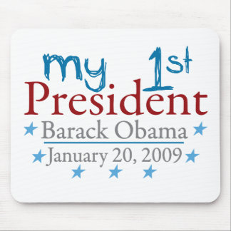 My 1st President Barack Obama Mouse Mat