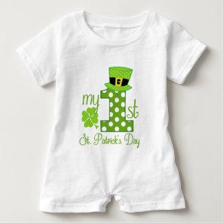 My 1st St. Patrick's Day Baby Romper