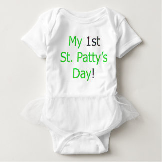 My 1st St. Patty's Day! Baby Bodysuit