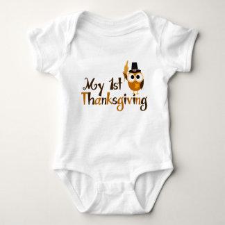 My 1st Thanksgiving Baby Bodysuit