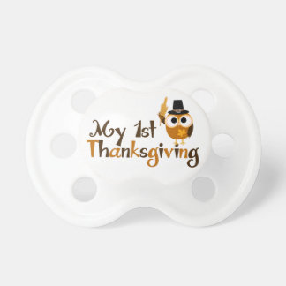 My 1st Thanksgiving BooginHead Pacifier