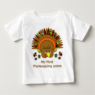 My 1st Thanksgiving Cute Turkey T-shirt