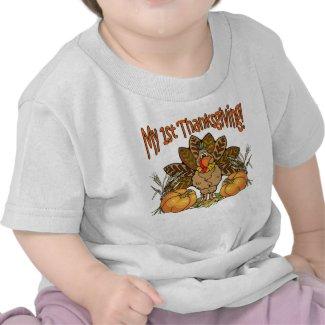 My 1st Thanksgiving T-Shirt shirt