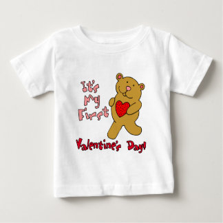 My 1st Valentine's Day Baby T-Shirt