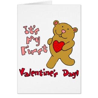 My 1st Valentine's Day Card