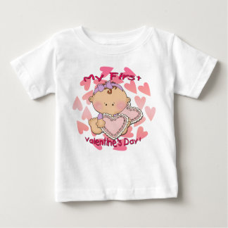 My 1st Valentine's Day (girl) Infant T-Shirt