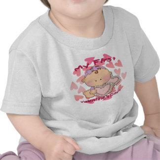My 1st Valentine's Day (girl) Infant T-Shirt