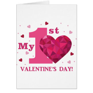 My 1st Valentine's Day Greeting Card