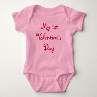 My 1st Valentine's Day-Infant Shirt