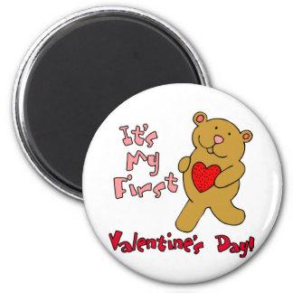My 1st Valentine's Day Refrigerator Magnets