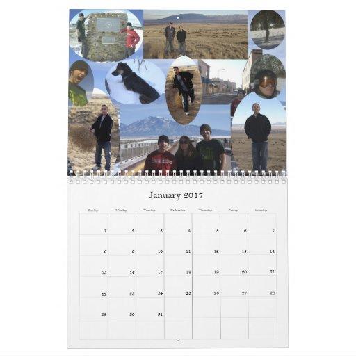 My 2009 Experiences, 2010 Ca... Calendar