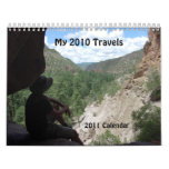 My 2010 Adventures, 2011 Calendar