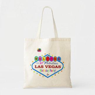 My 21th Birthday Party in Las Vegas Fun Bag! Budget Tote Bag