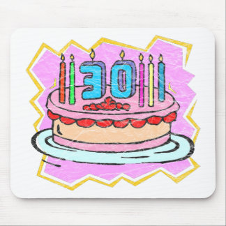 My 30th Birthday Gifts Mouse Pads