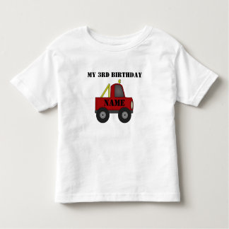 My 3rd Birthday Customize it Toddler T-shirt
