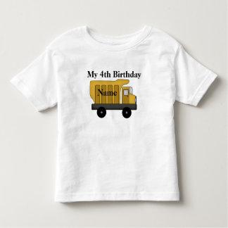 My 4th Birthday customize it Toddler T-shirt