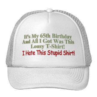My 65th Birthday Gifts Hats