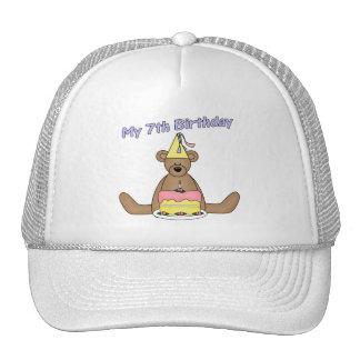 My 7th Birthday Gifts Trucker Hat