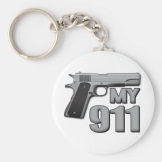 MY 911! KEYCHAIN