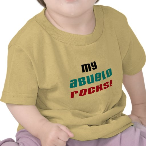 My Abuelo Rocks T-shirts and Gifts