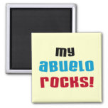 My Abuelo Rocks T-shirts and Gifts Magnets