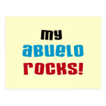 My Abuelo Rocks T-shirts and Gifts Postcard