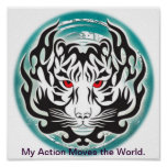 My action moves the world. print