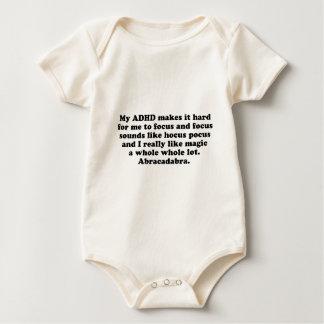 My ADHD Focus Hocus Pocus Baby Bodysuit