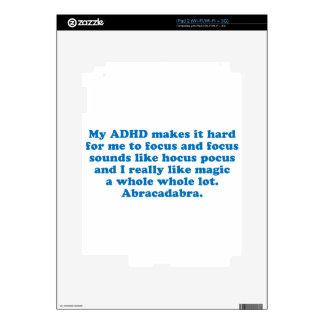 My ADHD Hocus Pocus Decals For The iPad 2