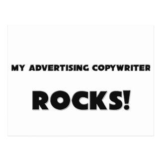 MY Advertising Copywriter ROCKS! Postcards