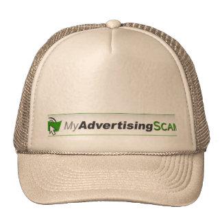 My Advertising Pays SCAM cap. Trucker Hat