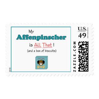 My Affenpinscher is All That! Postage