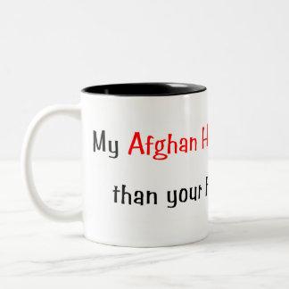 My Afghan Hound is smarter... Mug