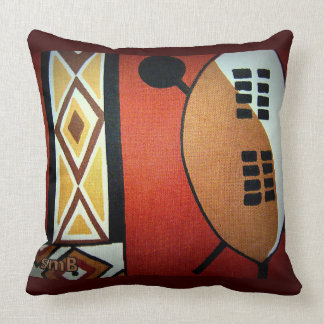 My Africa Throw Pillow