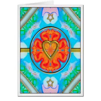 my aggel's heart card