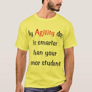 My Agility Dog is Smarter T-Shirt