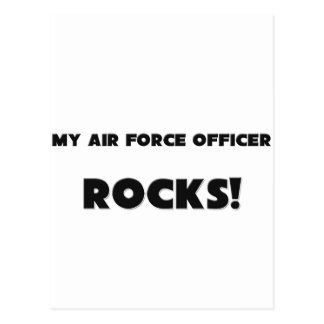 MY Air Force Officer ROCKS! Postcards
