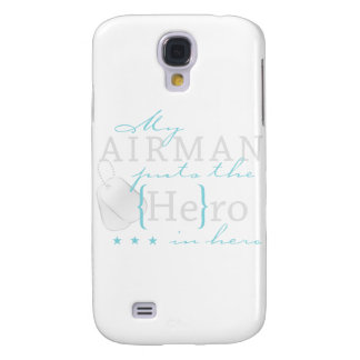 My Airman puts the He in Hero Galaxy S4 Cases
