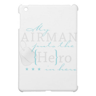My Airman puts the He in Hero iPad Mini Cases