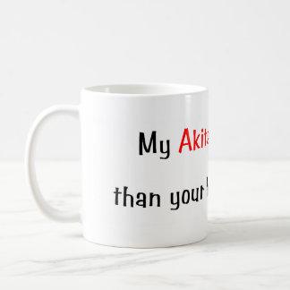 My Akita is smarter... Mug