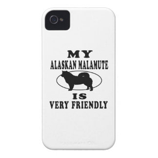 My Alaskan Malamute is very friendly iPhone 4 Cover