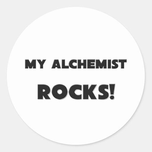 MY Alchemist ROCKS! Classic Round Sticker