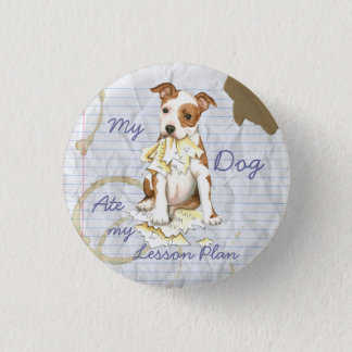 My Am Staff Ate My Lesson Plan Pinback Button