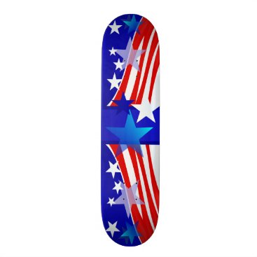 USA Themed MY AMERICA SKATEBOARD