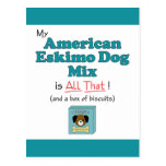 My American Eskimo Dog is All That! Postcards